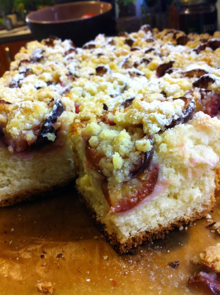 ciasto drożdżowe ze śliwkami 3