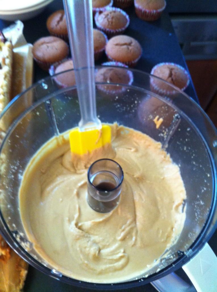 mufinki z masłem orzechowym 6