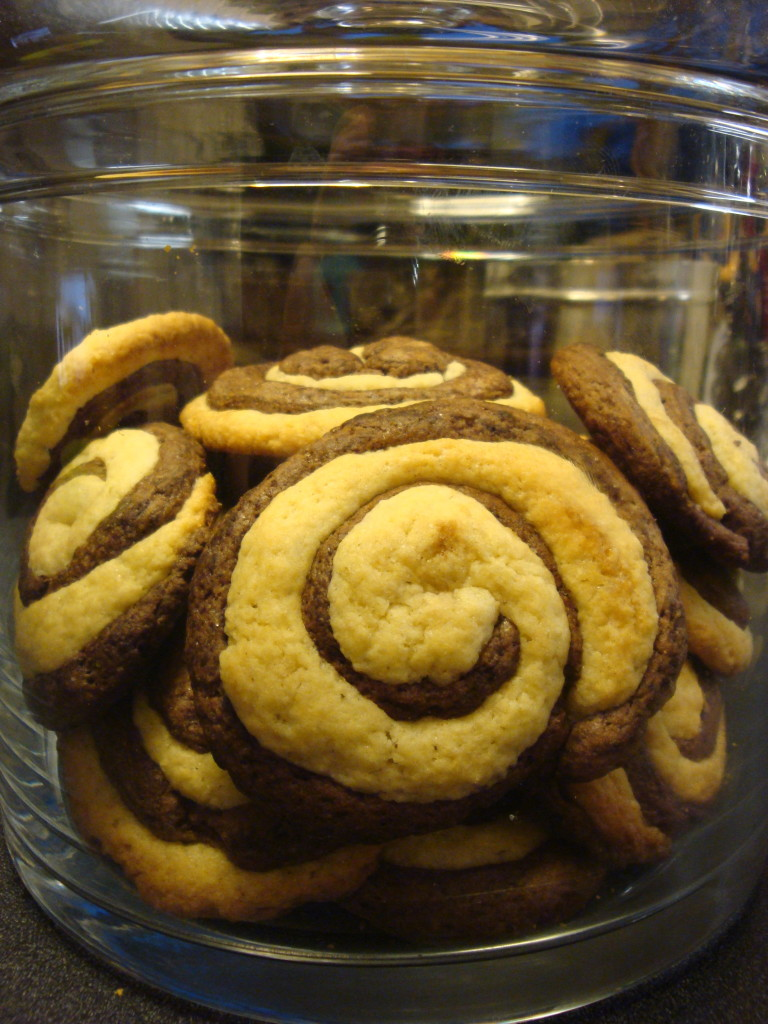 kruche ciastka czekoladowo-waniliowe 4