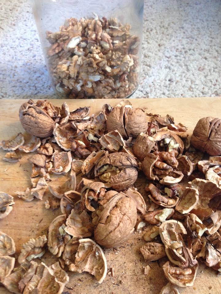 mazurek orzechowyz nasionami chia
