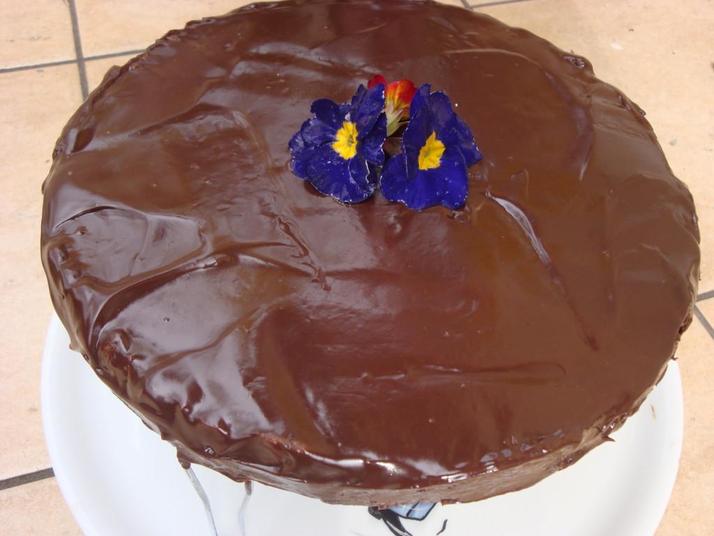 Niedzielne ciasto czekoladowo-kawowe