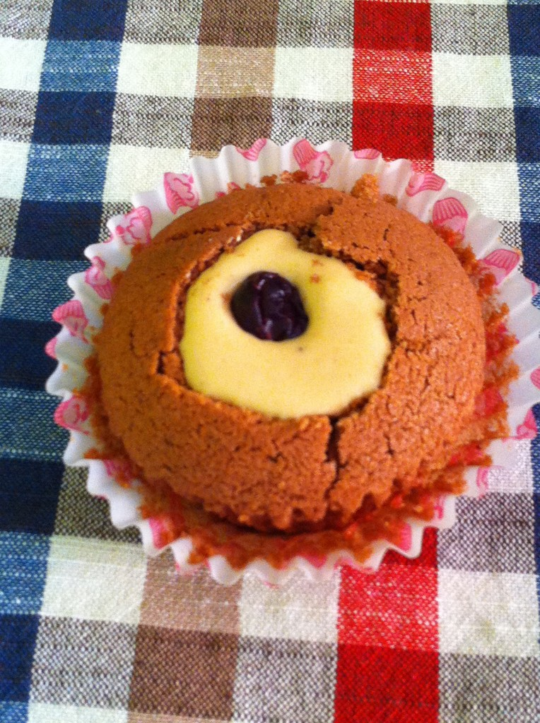 mufinki z masłem orzechowym 1
