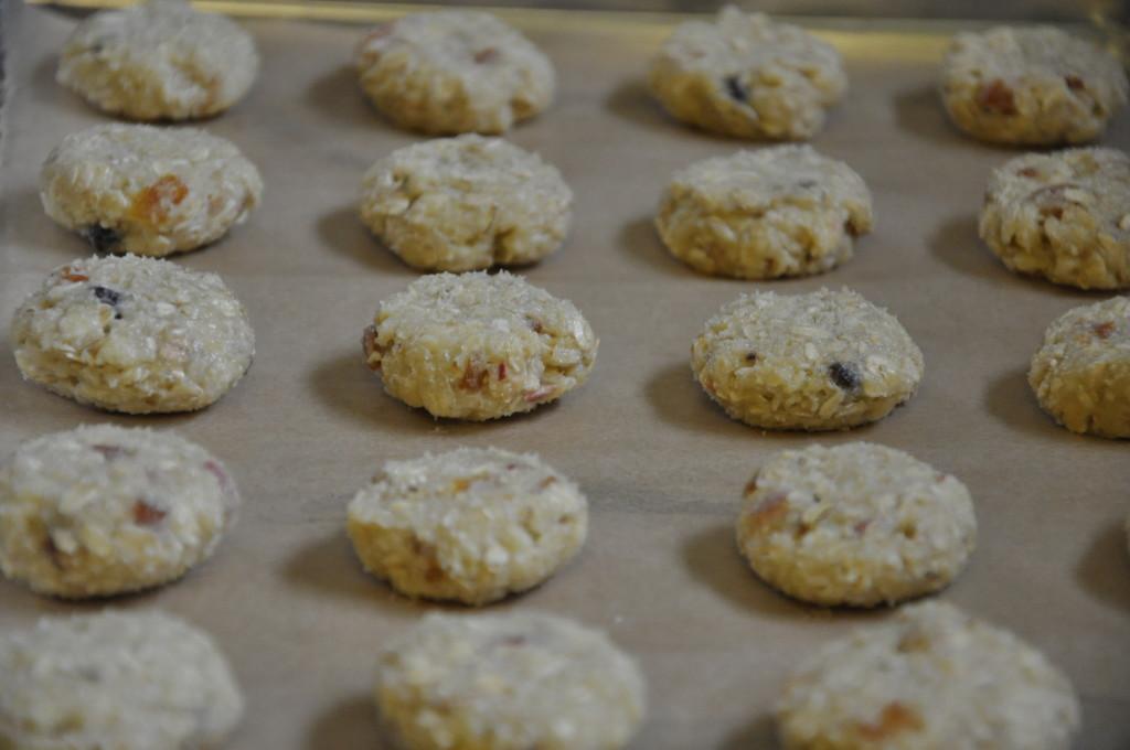 owsiane ciasteczka z morelami i migdałami 11