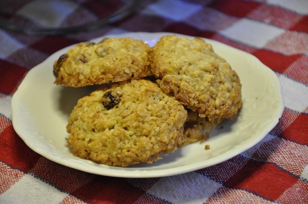 owsiane ciasteczka z morelami i migdałami 19
